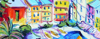 Giorgio Rosati: Ingenue esperienze di gioia e colore