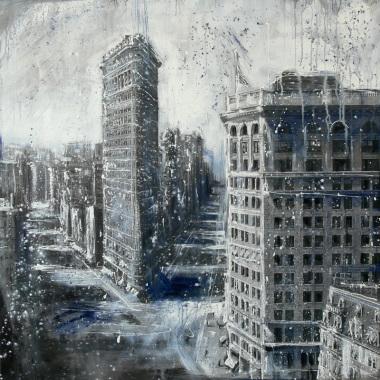 Quadri Moderni Urbani - Opera n.109 - Misure: n.d. | Borgo 66 - opere d'arte - Poggiardo - Salento